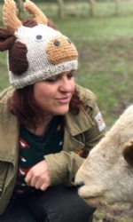 Brown Cow Hat