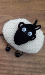 Sheepy Wool Badge